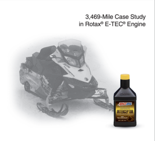 Interceptor Synthetic 2-Stroke Oil -Rotax Study